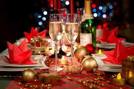 kerstmenu take away in Salons Notredame
