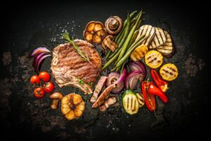 gastronomische barbecue in Salons Notredame te Diksmuide